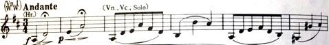楽譜 ブラームス ダブル・コンチェルト 第2楽章