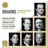 ブラームス 弦楽六重奏曲 カプソン、ハーゲン(ERATO)