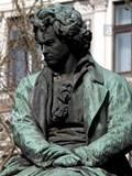 ベートーヴェンの像 Beethoven Platz, Wien, Österreich
