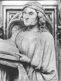 預言者エレミア Jeremiah(Claus Sluter 14世紀の作 )