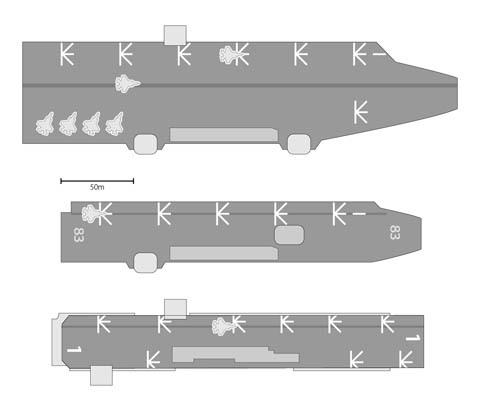 飛行甲板プラン