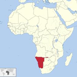 ナミビアWikimedia