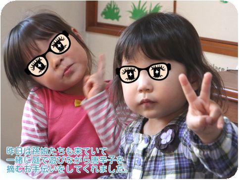 ⑦孫娘たち