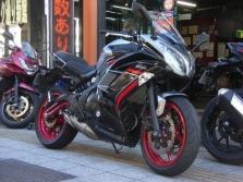 ニンジャ400LE灰赤EX400E- A14795カワムラ ナツキ1801 (1)