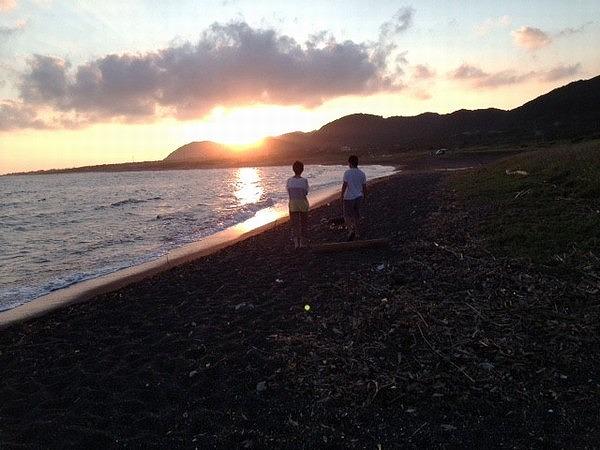 夕日の散歩_JALAN_150815