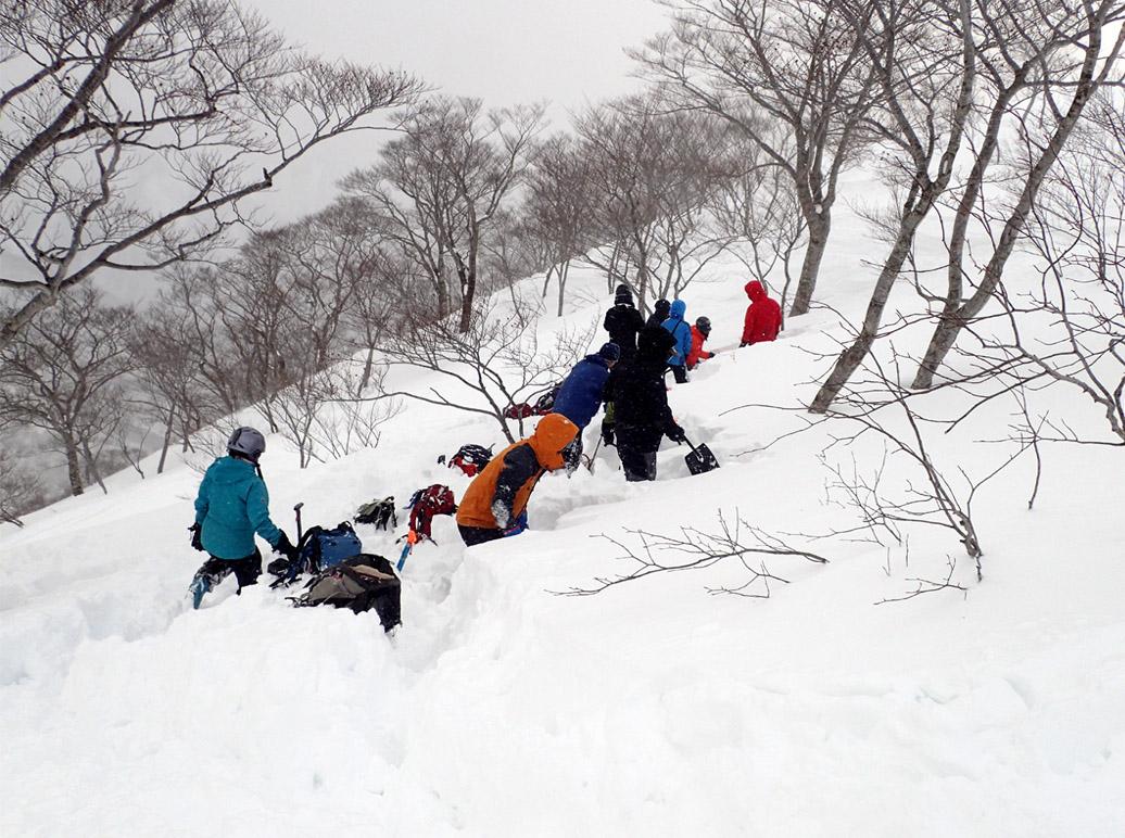 関東雪崩講習会 2019 (20)