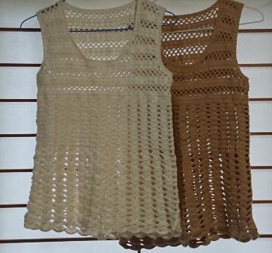 かぎ針編みベスト