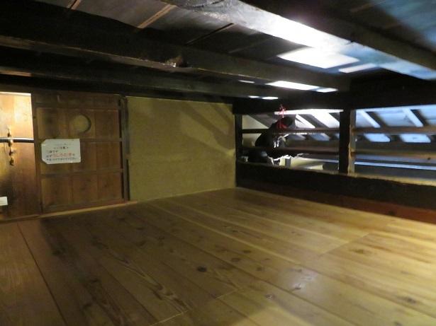 忍術屋敷2階