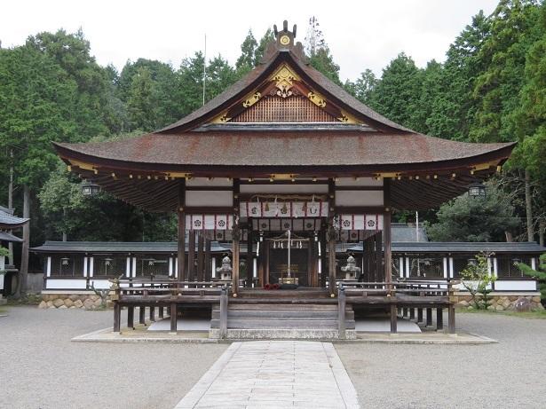 大鳥神社 拝殿