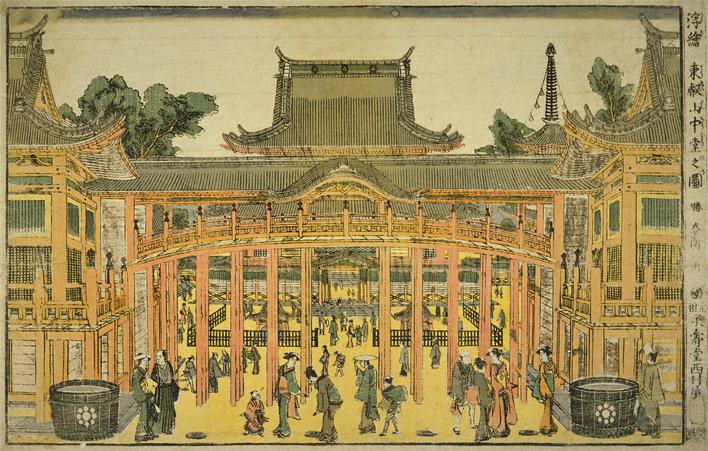 東叡山中堂之図