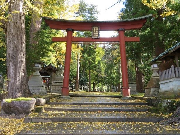 岡太神社 大瀧神社 鳥居