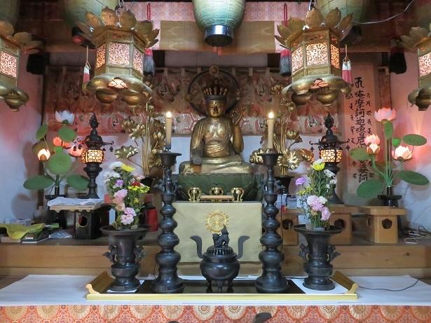 大瀧神社 絵馬堂の十一面観音座像