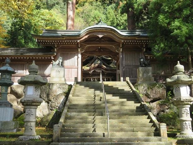 大瀧神社 神門