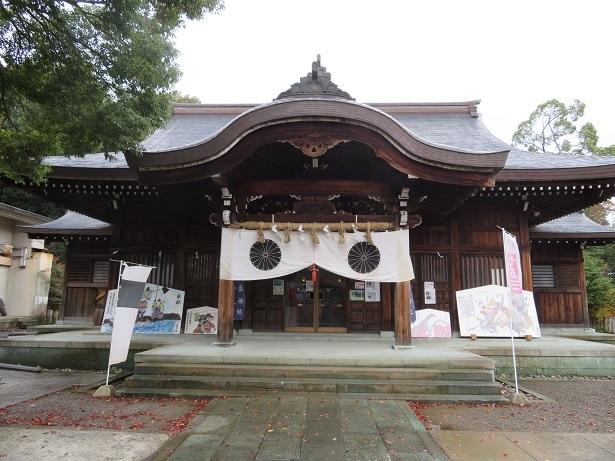 藤島神社 拝殿