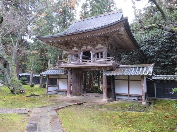 瀧谷寺 鐘楼門