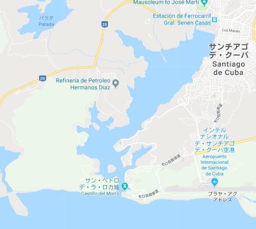 サンチャゴ湾