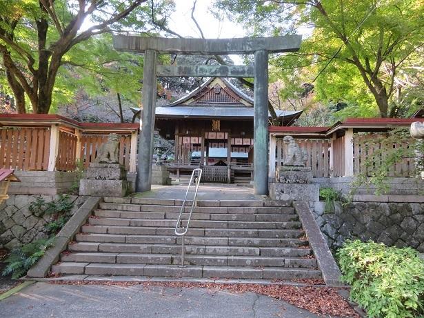 金崎宮 鳥居と神楽殿