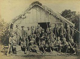 台湾出兵時の日本人兵士
