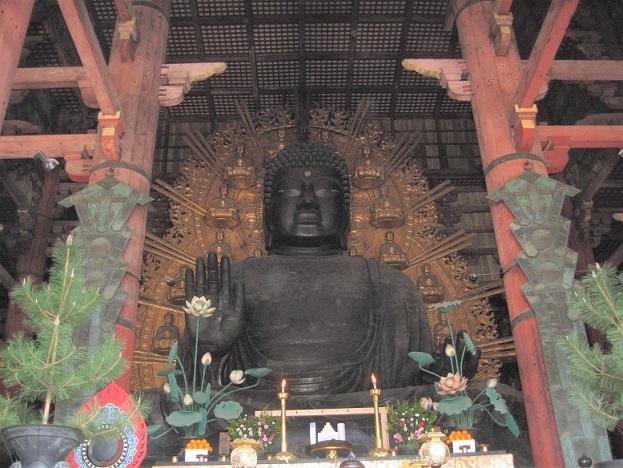 鋳潰されて銅銭にする計画があった東大寺大仏