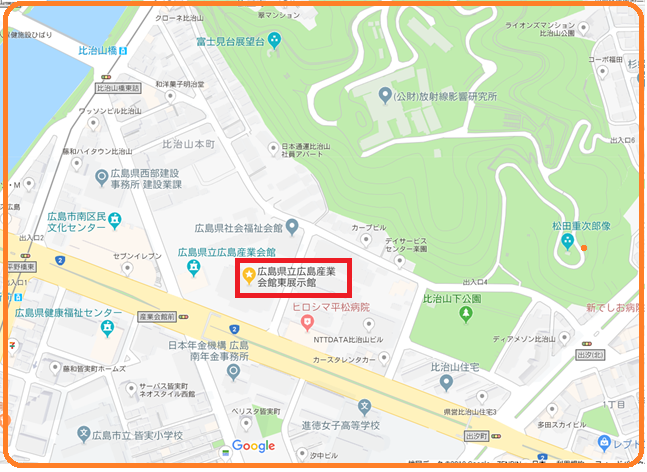 産業会館地図