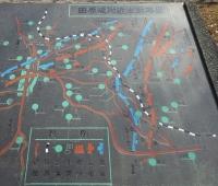 田原坂の戦い 配置図