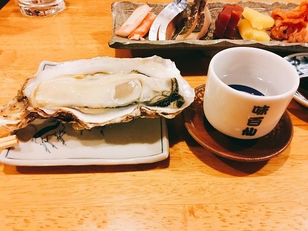 味百仙の牡蠣