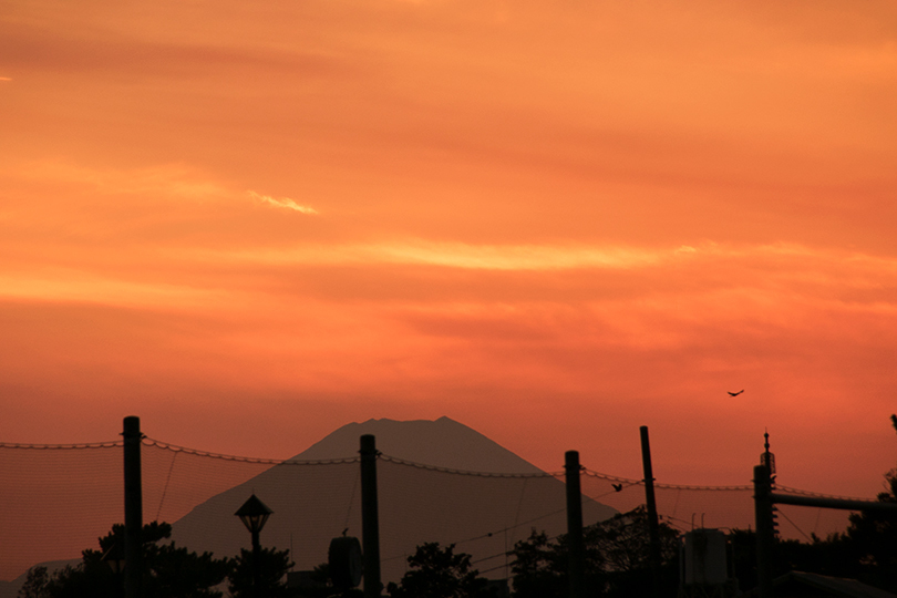 夕焼け富士山0H7A9833