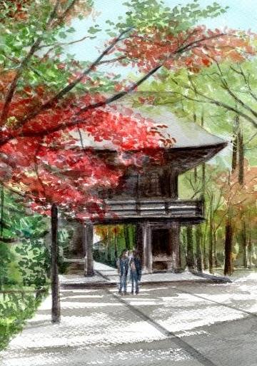 紅葉 平林寺