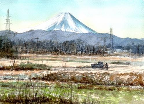 ブログ富士山