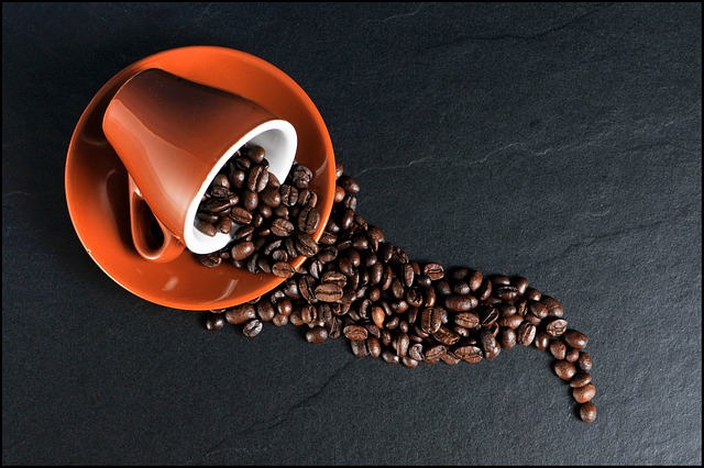 フリー画像・コーヒー豆