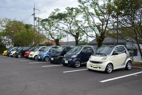 学校水族館駐車場
