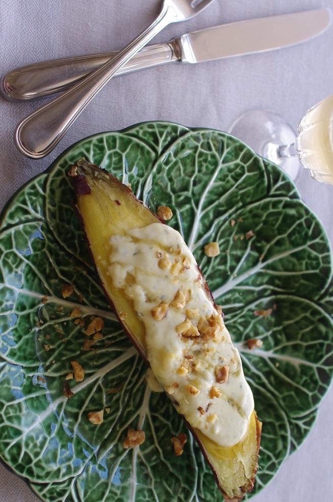 焼き芋ゴルゴンゾーラ
