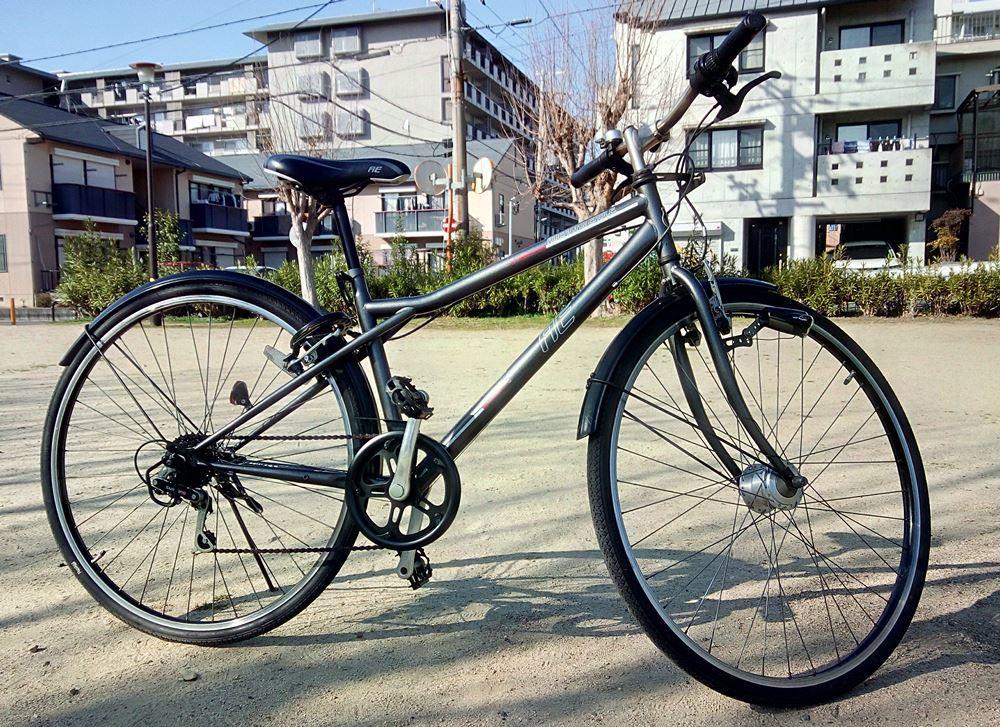 自転車をさらにキレイに・・・