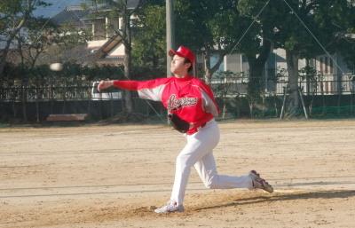 P2240059ラブジョイ5回からリリーフ本田投手
