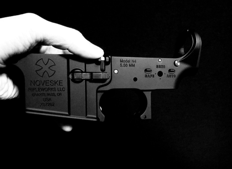 0 LayLax MG 次世代 M4 NOVESKE ロアフレーム カスタム!! アンビマグキャッチ仕様 & リアル風カスタムするの巻!! カスタム DIY 取付 加工 パーツ レビュー!!