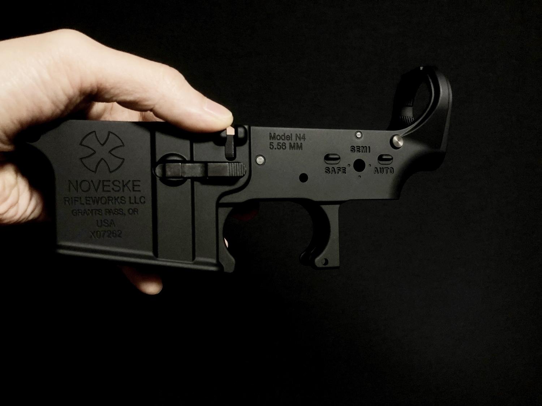 23 LayLax MG 次世代 M4 NOVESKE ロアフレーム カスタム!! アンビマグキャッチ仕様 & リアル風カスタムするの巻!! カスタム DIY 取付 加工 パーツ レビュー!!