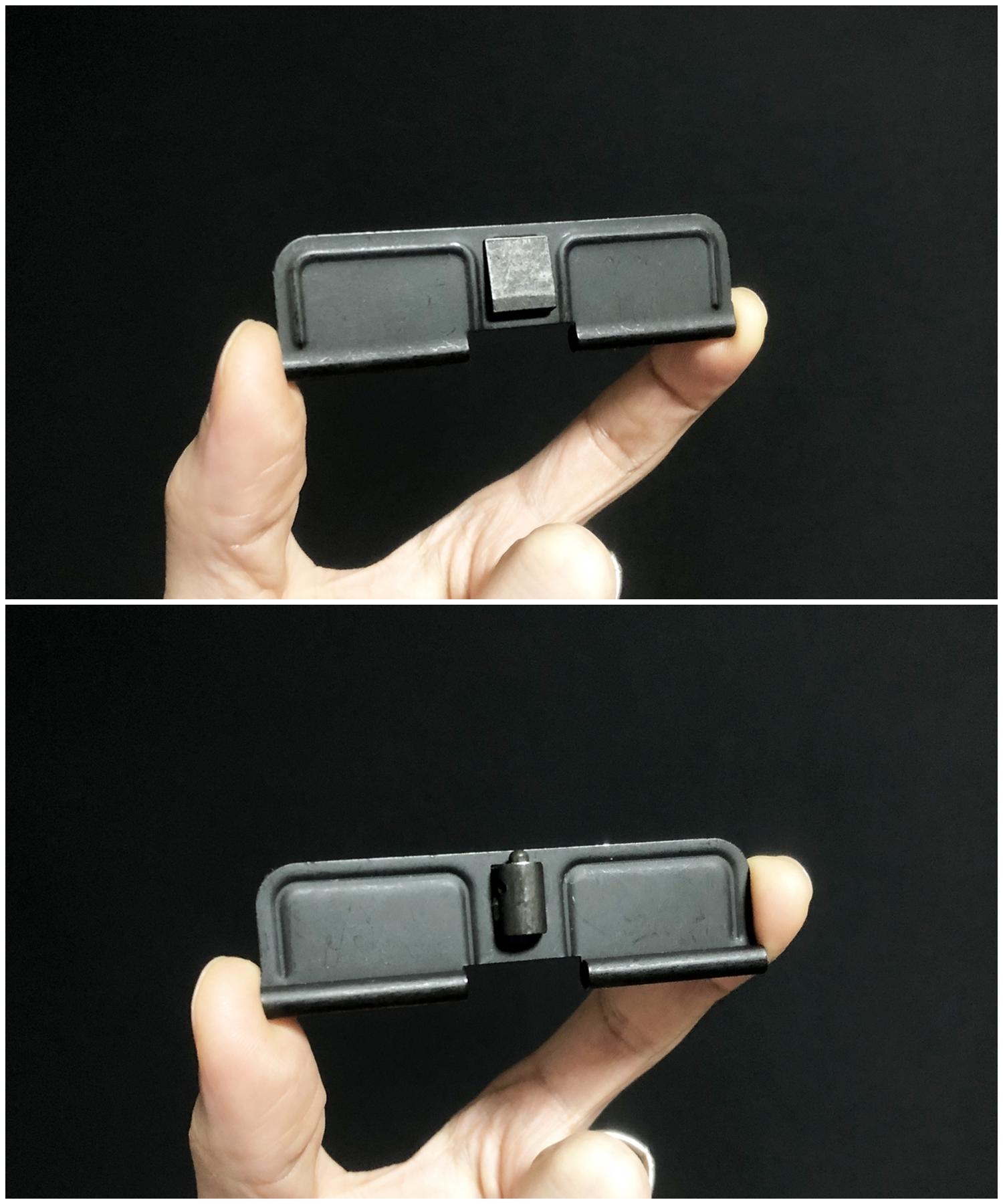 7『実物』 vs 『レプリカ』 ダストカバー & ガスチューブ を考える!! 次世代 M4 CQB-R アッパーフレーム ポートカバー カスタム 検証 取付 レビュー!!