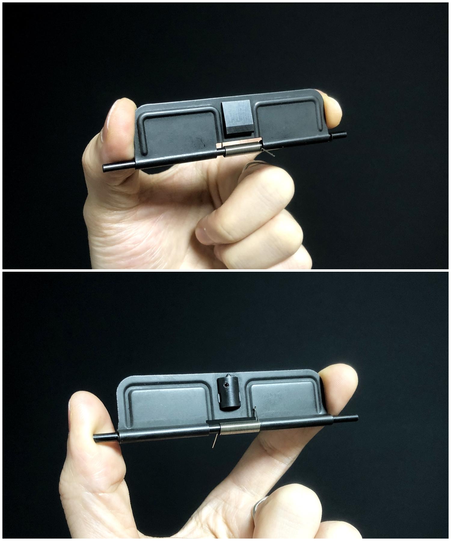 9『実物』 vs 『レプリカ』 ダストカバー & ガスチューブ を考える!! 次世代 M4 CQB-R アッパーフレーム ポートカバー カスタム 検証 取付 レビュー!!