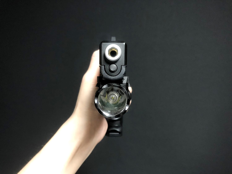 9 東京マルイ GLOCK 17 『SUREFIRE X300 ULTRA TYPE』を付けて見よう!! シュアファイア ウェポンライト グロック カスタム 取付 レビュー!! したるの巻!!