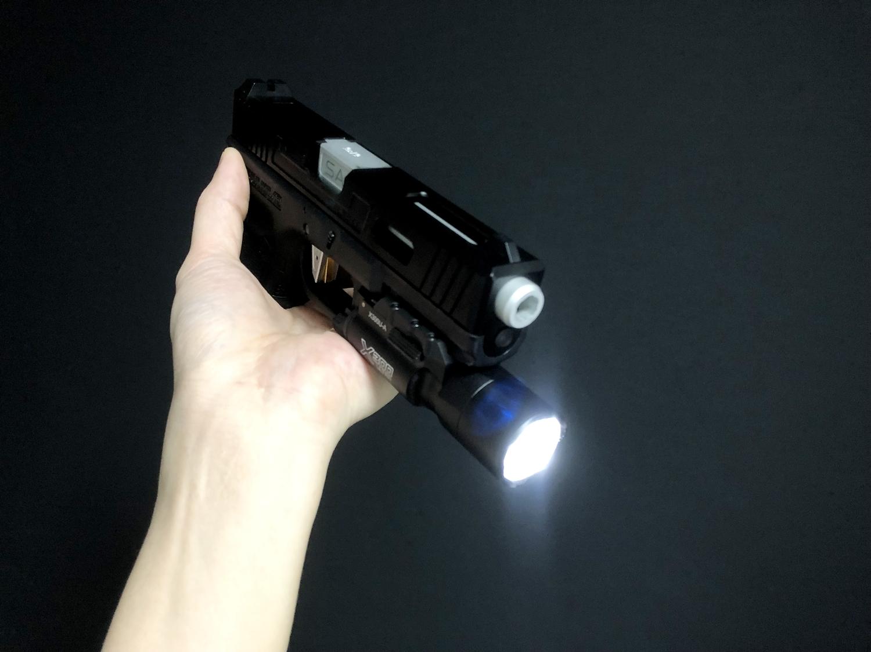 11 東京マルイ GLOCK 17 『SUREFIRE X300 ULTRA TYPE』を付けて見よう!! シュアファイア ウェポンライト グロック カスタム 取付 レビュー!! したるの巻!!