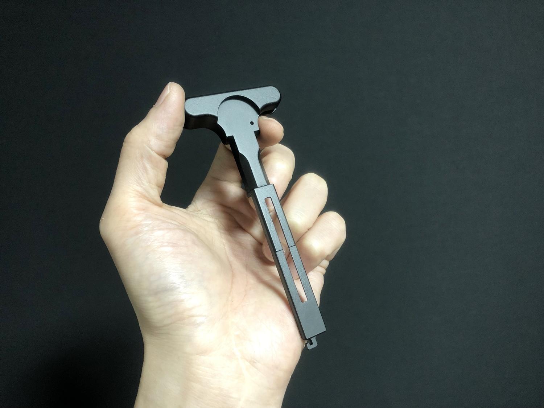 4 次世代 M4 CQB-R チャージングハンドルを考える!! BCM Mod3 チャージングラッチを加工してレプリカを作ってみる!! アンビ化計画 交換 取付 DIY レビュー!!