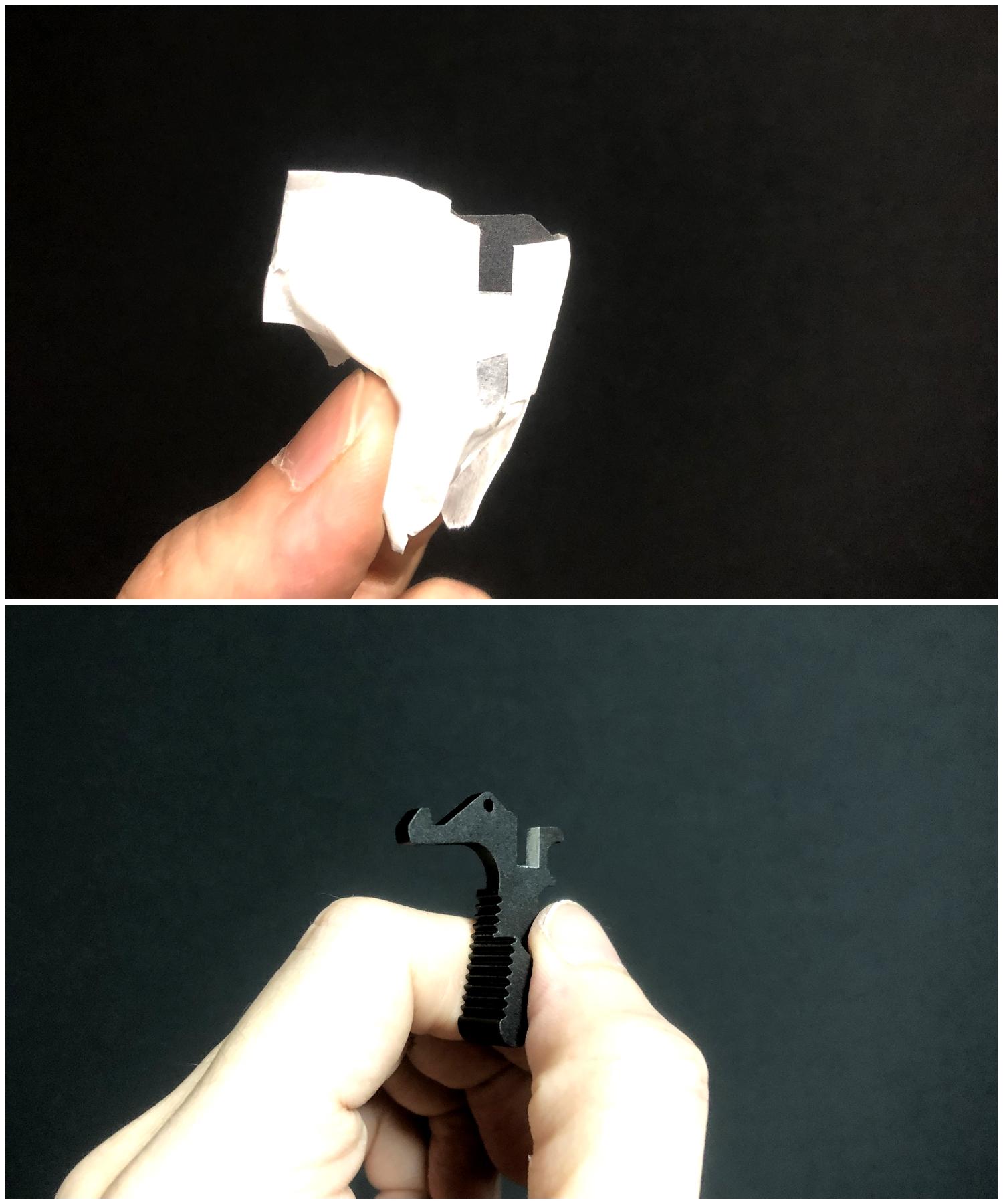 7 次世代 M4 CQB-R チャージングハンドルを考える!! BCM Mod3 チャージングラッチを加工してレプリカを作ってみる!! アンビ化計画 交換 取付 DIY レビュー!!