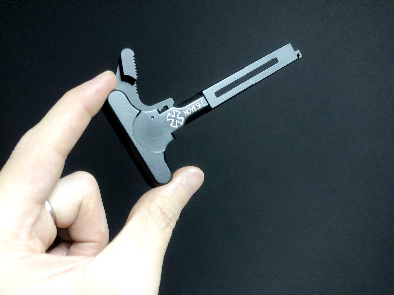 11 次世代 M4 CQB-R チャージングハンドルを考える!! BCM Mod3 チャージングラッチを加工してレプリカを作ってみる!! アンビ化計画 交換 取付 DIY レビュー!!