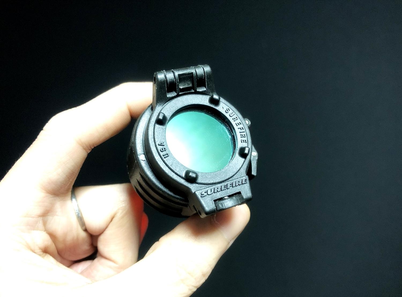3 SUREFIRE FM45 RED FILTER FM4X 1 37 BEZEL M952V M900V IR シュアファイアー レッドフィルター ウェポンライト 検証 取付 レビュー!!