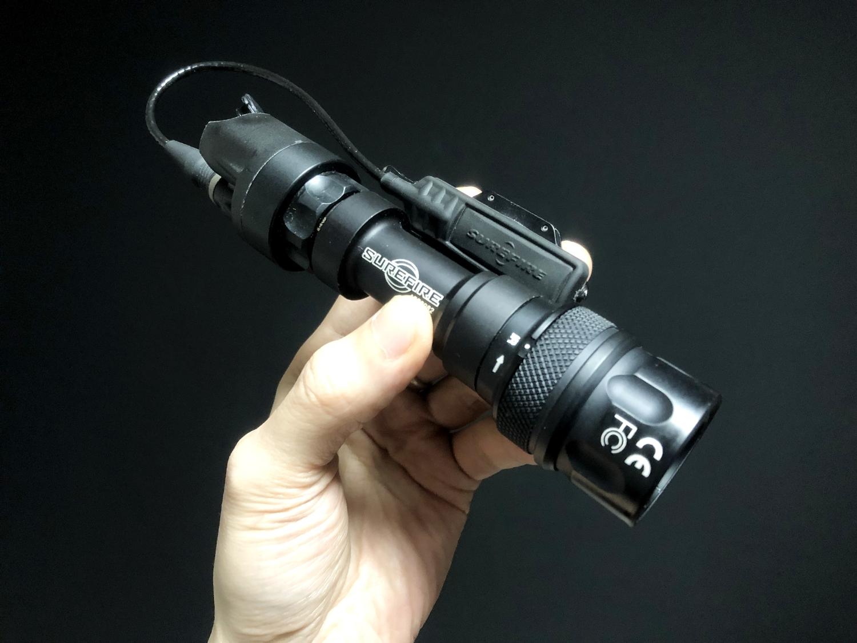 6 SUREFIRE FM45 RED FILTER FM4X 1 37 BEZEL M952V M900V IR シュアファイアー レッドフィルター ウェポンライト 検証 取付 レビュー!!