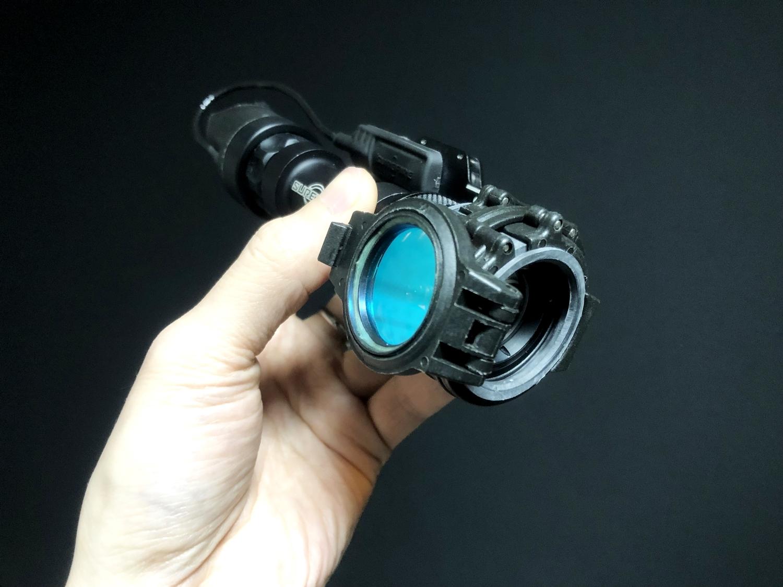 8 SUREFIRE FM45 RED FILTER FM4X 1 37 BEZEL M952V M900V IR シュアファイアー レッドフィルター ウェポンライト 検証 取付 レビュー!!