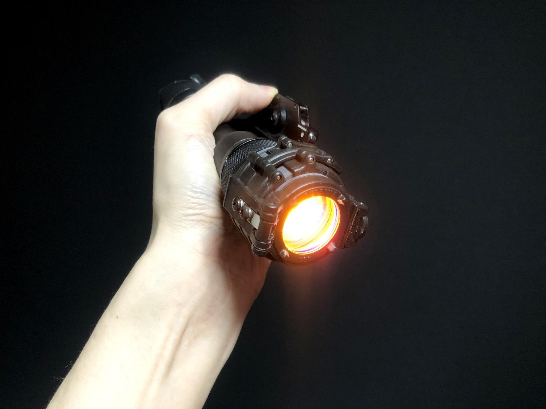 9 SUREFIRE FM45 RED FILTER FM4X 1 37 BEZEL M952V M900V IR シュアファイアー レッドフィルター ウェポンライト 検証 取付 レビュー!!