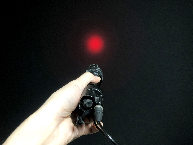 10 SUREFIRE FM45 RED FILTER FM4X 1 37 BEZEL M952V M900V IR シュアファイアー レッドフィルター ウェポンライト 検証 取付 レビュー!!