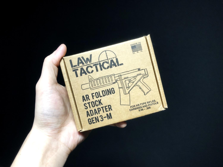 1 実物 LAW TACTICAL GEN 3-M AR FOLDING STOCK ADAPTER!! やっと我が家へやって来た!! 前期 後期 比較 購入 レビュー!!