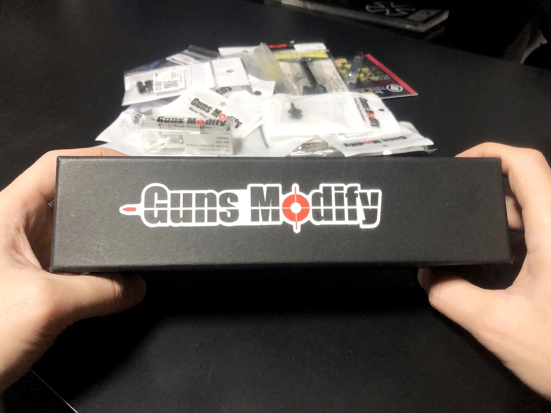 1【前半】 SAI GLOCK カスタムスライド G18C 組込完了!! やっと組み立てたぞ!! Guns Modify Salient Arms GM0251 スライドパーツ 購入 組込 分解 取付 カスタム レビュー!!